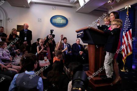 Editorial picture of Trump, Washington, USA - 25 Apr 2019