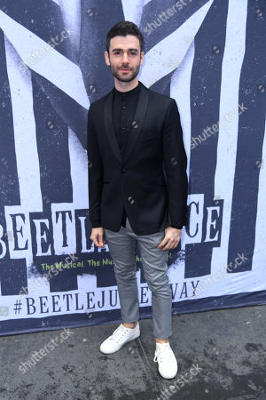 Editorial picture of 'Beetlejuice' Broadway play opening night, Arrivals, New York, USA - 25 Apr 2019