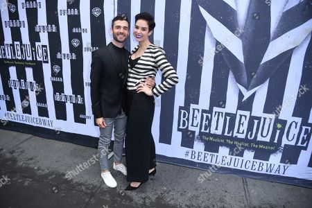 Editorial image of 'Beetlejuice' Broadway play opening night, Arrivals, New York, USA - 25 Apr 2019