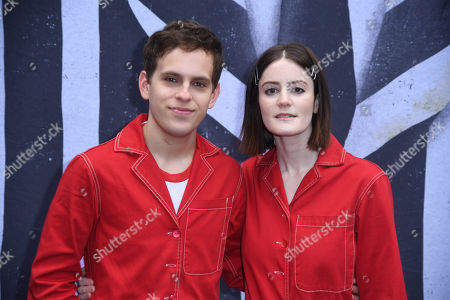 Stock Image of Taylor Trensch and Kayla Foster