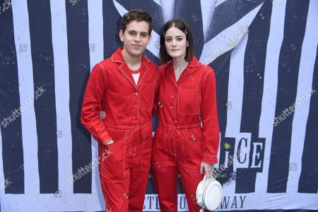 Stock Picture of Taylor Trensch and Kayla Foster