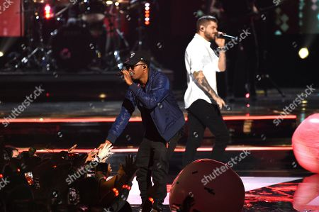 MKTO, Malcolm David Kelley, Tony Oller. Malcolm David Kelley, left, and Tony Oller of MKTO perform at WE Day California at The Forum, in Inglewood, Calif