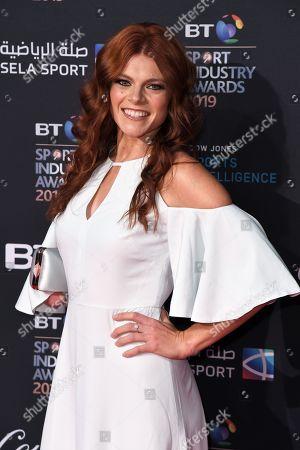 Editorial photo of BT Sport Industry Awards, London, UK - 25 Apr 2019