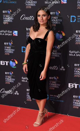 Editorial picture of BT Sport Industry Awards, London, UK - 25 Apr 2019