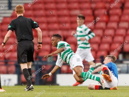 Editorial photo of Celtic v Rangers, Scottish FA Youth Cup Final, Football, Hampden Park, Glasgow, UK - 25 Apr 2019