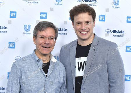 Tom Wilson and Marc Kielburger
