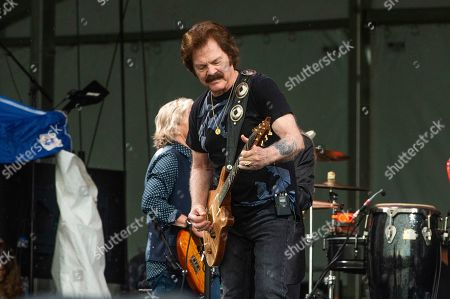 Tom Johnston of The Doobie Brothers performs at the New Orleans Jazz and Heritage Festival, in New Orleans