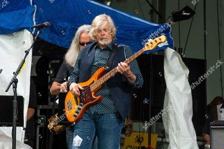 John Cowan of The Doobie Brothers performs at the New Orleans Jazz and Heritage Festival, in New Orleans