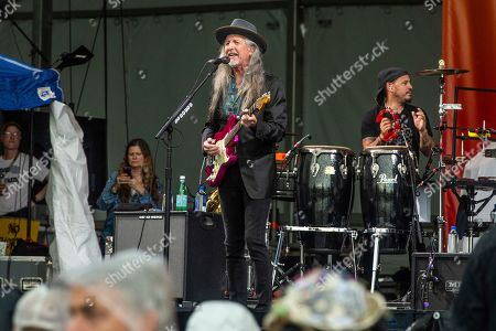 Patrick Simmons of The Doobie Brothers performs at the New Orleans Jazz and Heritage Festival, in New Orleans