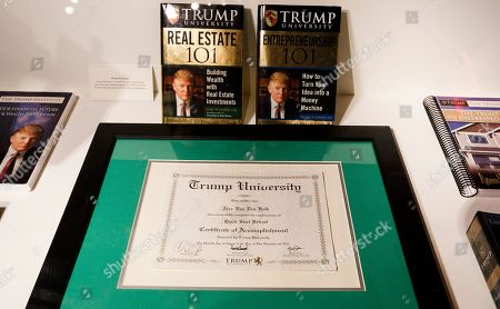 Editorial image of Artist Andres Serrano 'The Game: All Things Trump' Installation, New York, USA - 25 Apr 2019