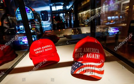 Editorial photo of Artist Andres Serrano 'The Game: All Things Trump' Installation, New York, USA - 25 Apr 2019