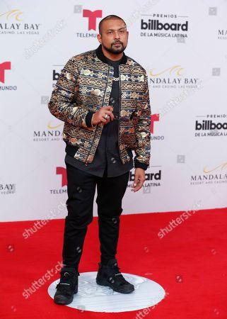 Sean Paul arrives at the Billboard Latin Music Awards, at the Mandalay Bay Events Center in Las Vegas