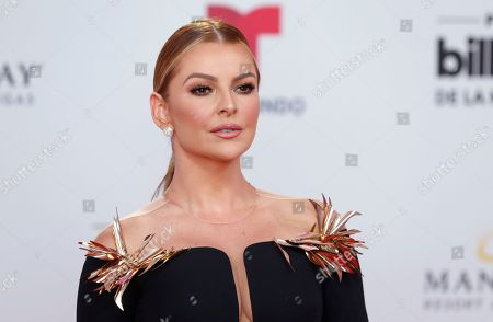 Marjorie de Sousa arrives at the Billboard Latin Music Awards, at the Mandalay Bay Events Center in Las Vegas