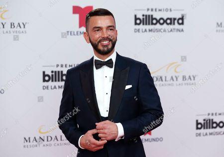 Juan Manuel Cortez arrives at the Billboard Latin Music Awards, at the Mandalay Bay Events Center in Las Vegas