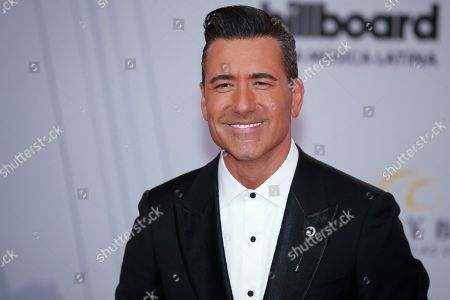 Jorge Bernal arrives at the Billboard Latin Music Awards, at the Mandalay Bay Events Center in Las Vegas