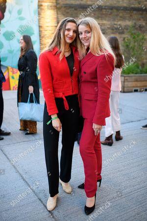 Antonia Thomas and Flora Alexandra Ogilvy