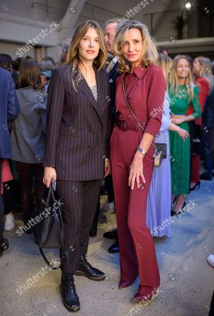Stock Picture of Sara Brajovic and Marie Moatti