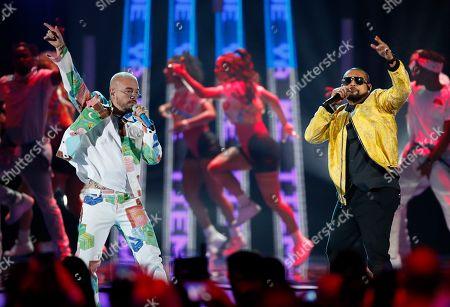Sean Paul, J Balvin. Sean Paul, right, and J Balvin perform a medley at the Billboard Latin Music Awards, at the Mandalay Bay Events Center in Las Vegas