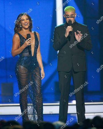 Billboard Latin Music Awards Show Las Vegas Stock Photos