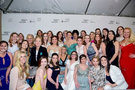 Editorial photo of 'At the Heart of Gold: Inside the USA Gymnastics Scandal' premiere, Tribeca Film Festival, New York, USA - 25 Apr 2019
