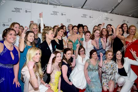 Editorial picture of 'At the Heart of Gold: Inside the USA Gymnastics Scandal' premiere, Tribeca Film Festival, New York, USA - 25 Apr 2019