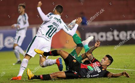 Editorial image of Brazil Soccer Copa Libertadores, Arequipa, Peru - 25 Apr 2019