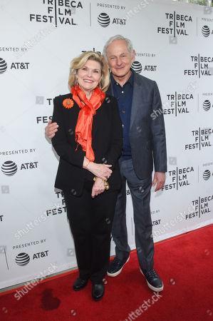 Debra Monk and Victor Garber