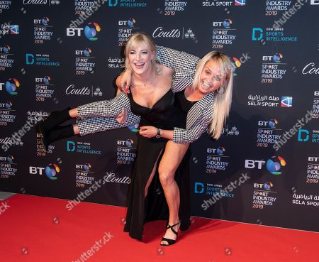 Elise Christie and Aimee Fuller