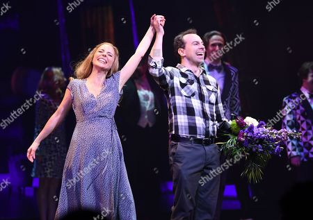 Stock Picture of Kerry Butler and Rob McClure