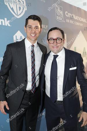 Nicholas D'Agosto and PJ Byrne