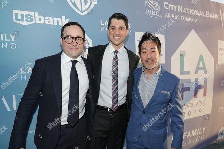 Nicholas D'Agosto, PJ Byrne and Kenneth Choi