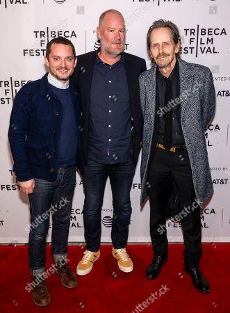 Elijah Wood, Ant Timpson and Stephen McHattie