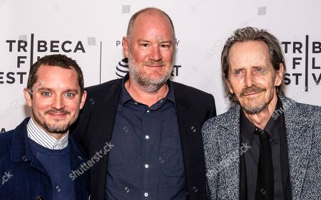 Stock Picture of Elijah Wood, Ant Timpson and Stephen McHattie