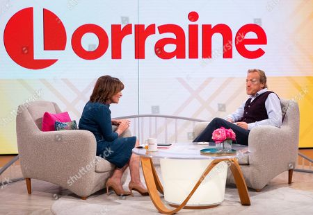 Stock Image of Lorraine Kelly and Jerome Flynn