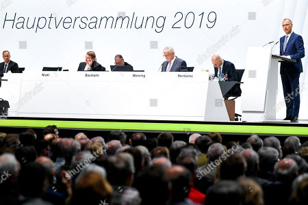 Editorial image of Bayer annual shareholders meeting, Bonn, Germany - 26 Apr 2019