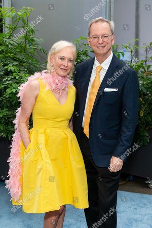 Stock Picture of Wendy Schmidt, Eric Schmidt