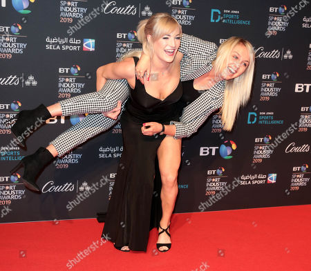 Aimee Fuller and Elise Christie