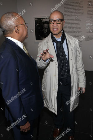 Stock Photo of Dr. Henry Louis Gates and Darren Walker