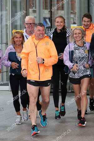 Chris Evans, Paula Radcliffe