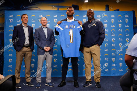 Editorial image of Draft Chargers Football, Costa Mesa, USA - 26 Apr 2019