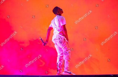 Stock Image of Vince Staples