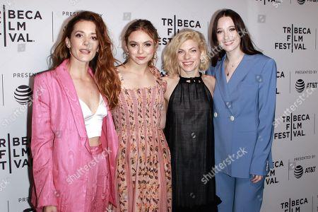 Danielle Krudy, Bridget Savage Cole, Morgan Saylor, Sophie Lowe