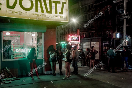 Editorial photo of 'The Deuce' on set filming, New York, USA - 26 Apr 2019