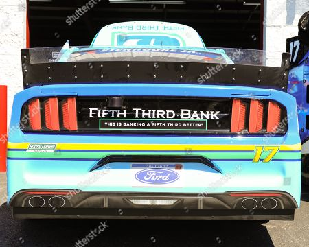 The Fifth Third Bank Ford (17), driven by Ricky Stenhouse Jr., during the General Tire 200 at Talladega Super Speedway in Lincoln, AL. Kevin Langley/Sports South Media/CSM