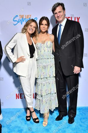 Sosie Bacon, Maia Mitchell and Mike Karz