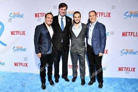 William Bindley, Jake Gerber, Mike Karz and Scott Bindley