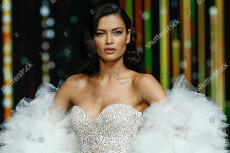 Stock Picture of Angela Ruiz on the catwalk