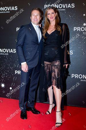 Editorial photo of Pronovias show, Bridal Fashion Week, Barcelona, Spain - 26 Apr 2019