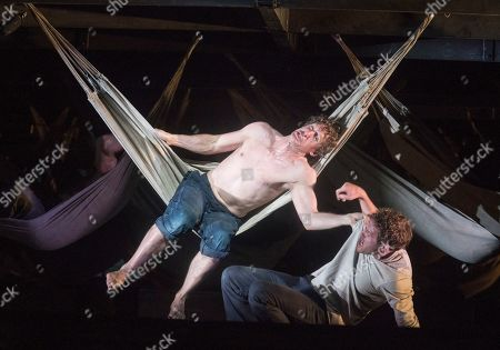 Jacques Imbrailo as Billy Budd, Sam Furness as Novice