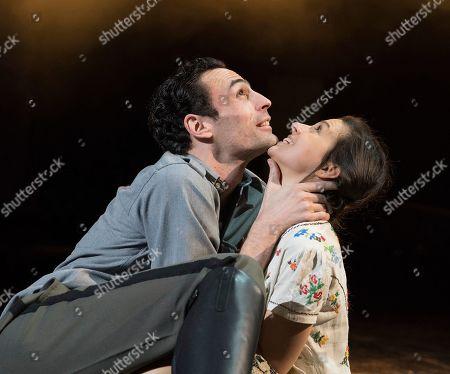 Alex Mugnaioni as Captain Corelli, Madison Clare as Pelagia